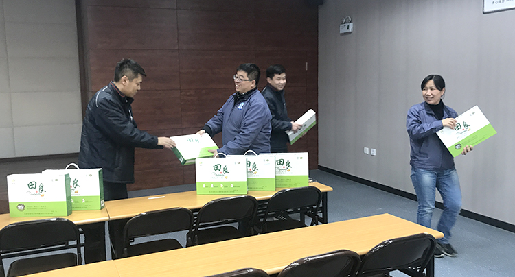 MSYC (Mando Shenyang China) Delivers Year-end Gifts to Employees as Part of Gratitude Sharing